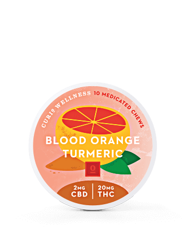 Blood Orange Turmeric Chews