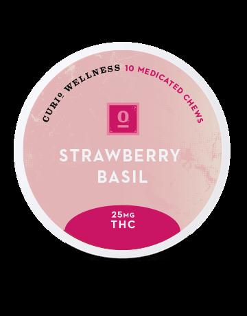 Strawberry Basil Chews