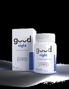 good night bottle and box