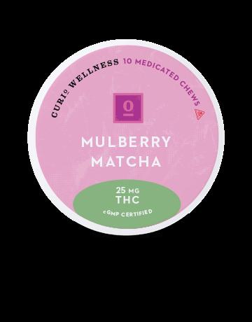Mulberry Matcha Chews