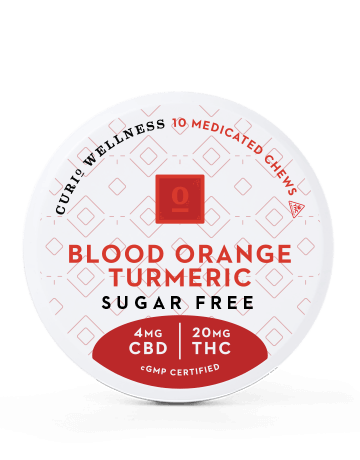Sugar Free Blood Orange Turmeric Chews