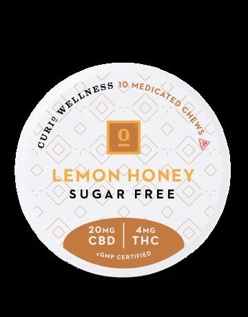Sugar Free Lemon Honey Chews