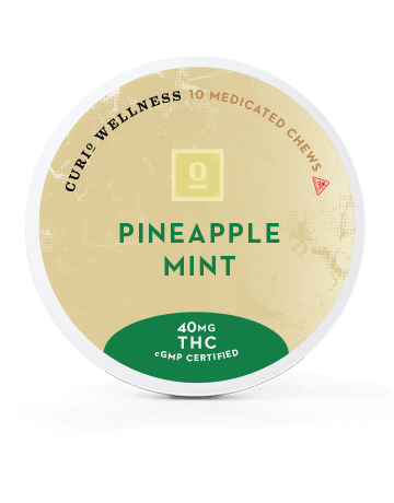 Pineapple Mint Chews (THC Only)