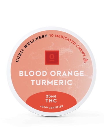 BLOOD ORANGE TURMERIC CHEWS (THC ONLY)